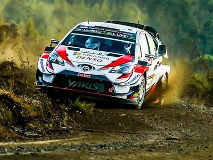 Tanakam uzvara Čīles WRC, Lēbam 3.vieta
