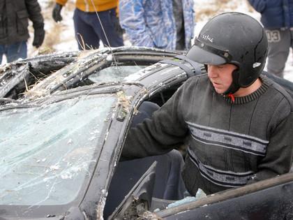 Wurth ziemas kausa otrajā posmā sportists uzmet kūleni (FOTO)