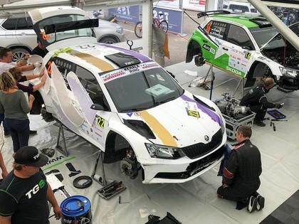Divi igauņu sportisti 'Rally Estonia' debitēs pie R5 auto stūres