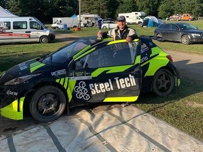 Juris Spīķis kļūst par Baltijas rallijkrosa čempionu Super 1600 klasē
