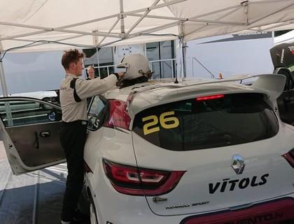 Vītols un Baldiņš gatavi 'RallyX Nordic' cīņām