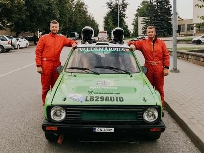 Kristaps Bērziņš: Autosportā nekad nevar paredzēt, kā sacensības beigsies