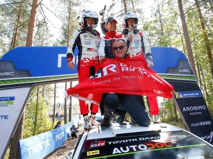 Makinens: Tanaku kopā ar 'Yaris WRC' mašīnu šobrīd ir grūti pārspēt
