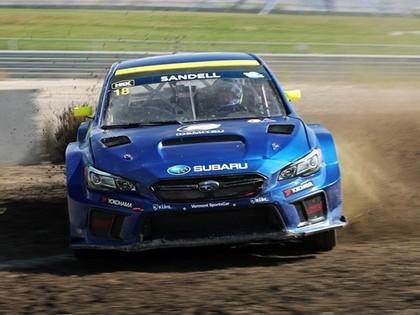 Bakeruds ar 'Subaru' startēs noslēdzošajos divos Amerikas rallijkrosa čempionāta posmos