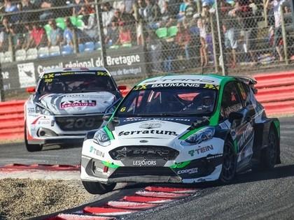Francijas RX uzvar Hansens, Baumanis aizcīnās līdz pusfinālam