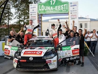Noskaidrotas Latvijas rallija čempionāta ātrākās ekipāžas