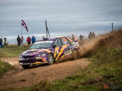Rallijsprintā 'Saldus' dominē Rallyworkshop komanda, uzvaru svin Bergmanis