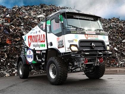 Dakaras rallijā startēs hibrīda smagā automašīna (VIDEO)
