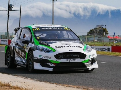Baumanis Dienvidāfrikas RX posmu pirmajā kvalifikācijā sāks no iekšmalas