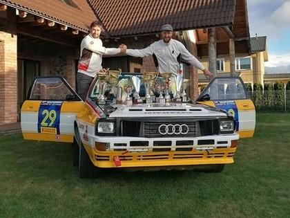 Brāļi Velmes šķiras no sava 'Audi Quattro A2', plāno atgriezties ar kaut ko iespaidīgu