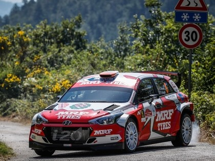 Brīns un Noivils ar 'Hyundai i20 R5' startēs Itālijas asfalta rallijā
