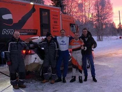 'Neiksans Rallysport' jauno sezonu sāk ar Lapzemes ralliju