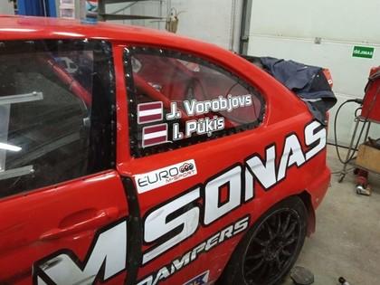 Vorobjovs/Pūķis ar 420 Zs jaudīgu pilnpiedziņas BMW startēs Īrijas rallijā