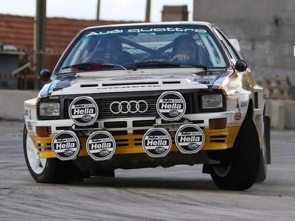 Brāļu Velmes bijušais 'Audi Quattro A2' gatavojas debijai Portugāles rallijā (FOTO)