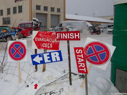 Ziemas rallijam nepiemērotu laikapstākļu dēļ tiek atcelts arī 'Rally Alūksne'