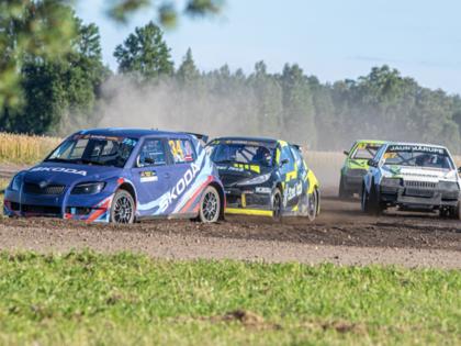 Latvijas rallijkrosa čempionāta 2.posmā Biržos sagaidāms kupls pieteikumu skaits
