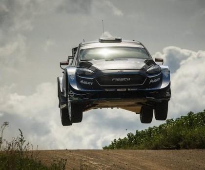 Evans pēc smagas piezemēšanās 'Rally Estonia' būs spiests izlaist Somijas WRC