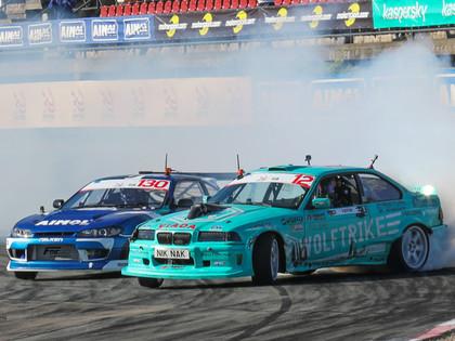 Rīgā norisināsies divi 'Drift Masters' Eiropas drifta čempionāta posmi