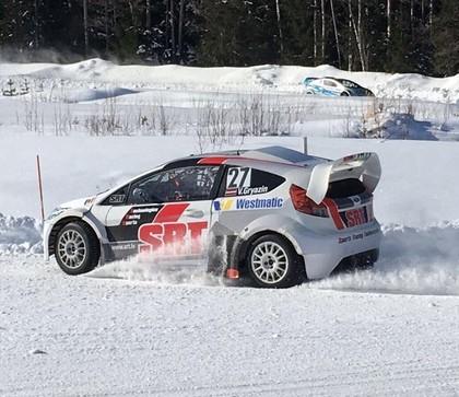 Vasīlijs Grjazins ziemas sezonā startēs 'RallyX on ice'