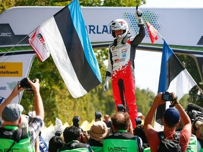 Tanaks turpina dominēt un Vācijas WRC izcīna piekto uzvaru šosezon