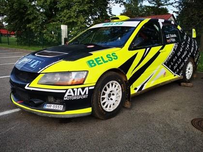 Edgara Baloža automašīnai pirms Igaunijas 'Louna Eesti' rallija jauns dizains (FOTO)