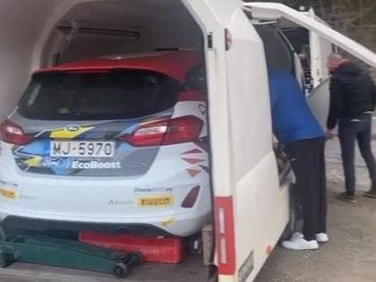 Seskam Slovēnijā pēdējie testi pirms jaunās Junior WRC sezonas starta