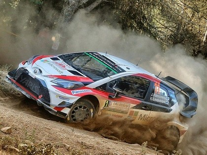 Lēbs Portugāles WRC aizstās Mikelsenu, 'Toyota' Itālijā startēs ar četrām ekipāžām