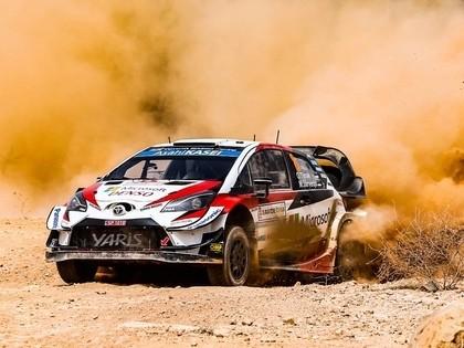 Tanaks kļūst par Sardīnijas WRC rallija jauno līderi, Sesks JWRC klasē piektais