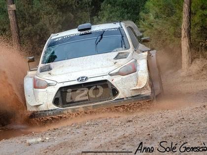 Talantīgais somu sportists aizvada pirmos testus ar 'Hyundai i20 Coupe WRC' (VIDEO)