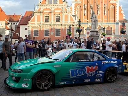 2017.gada 'Formula Drift' čempions Džeimss Dīns: Rīgas trase ir labākā Eiropā
