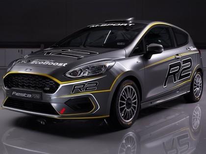 M-Sport rallija komanda prezentē jauno 200 Zs jaudīgo 'Ford Fiesta R2'
