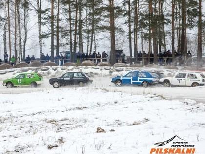 Pilskalnu ziemas krosam un folkreisam piesakās kupls dalībnieku skaits