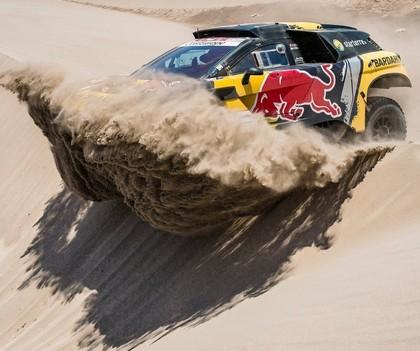 Lēbs Dakaras rallijā pakāpjas uz otro vietu