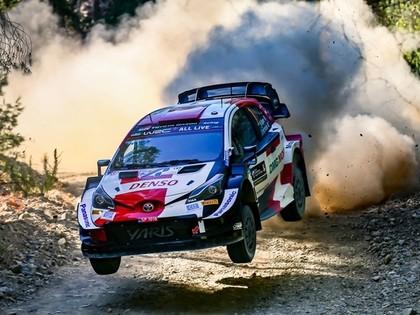Pēc Grieķijas WRC rallija pirmās dienas līderis Rovanpera
