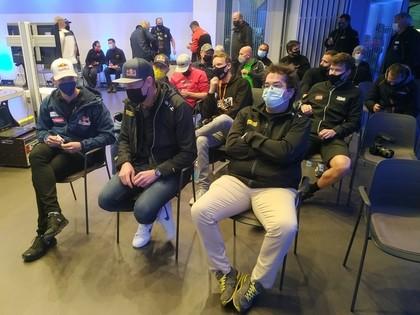Baumanis un Ošs 'Riga RX' 1.kvalifikāciju sāks no 'pole-position'