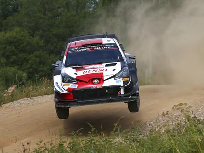 Rovanpera saglabā vadību Igaunijas WRC, Tanaks izstājas, Sesks klasē ceturtais