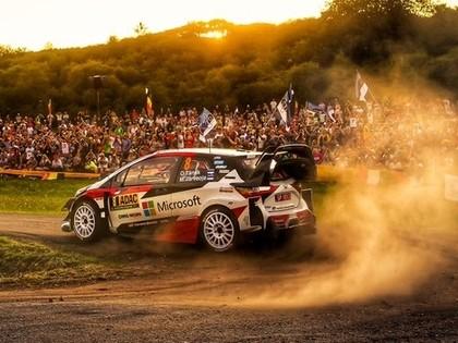 Tanaks līderis pēc aizraujošas Vācijas WRC rallija pirmās dienas