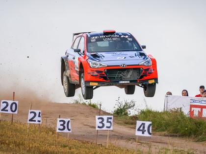 Notikumiem bagātajā Samsonas Rally Rokiškis uzvar Grjazins, 2WD klasē ātrākais Sesks