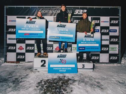 Pēdējos sacensību apļos noskaidro 333 Ziemas kausa sezonas uzvarētājus
