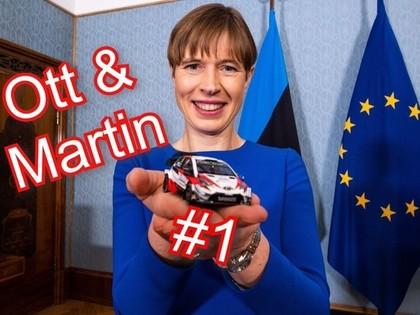 Igaunijas prezidente: Spānijas WRC skatījās visi igauņi - ja neskatījās, tad vismaz klausījās