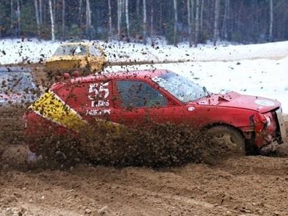Atceltas pirmās folkreisa un krosa komisijas autokrosa ziemas sacensības