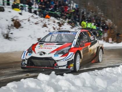 Pēc aizraujošas Montekarlo WRC rallija trešās dienas līderis Evans