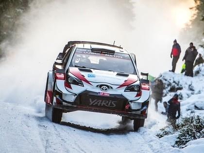 Pēc Zviedrijas WRC rallija pirmās dienas līderis Evans, Sesks JWRC klasē otrais