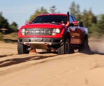 Gatavojoties Dakaras rallijam, RE Autoclub uzbūvē jaudīgu Ford Raptor (VIDEO)