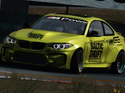 Drifts gatavojas virtuālajām sacensībām