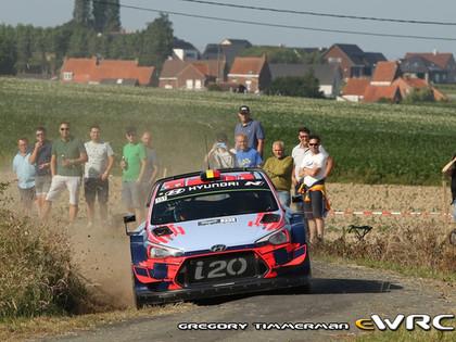 Beļģijas WRC uz starta izies pēdējo sešu gadu laikā lielākais dalībnieku skaits