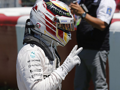 Kanādas F1 kvalifikācijā uzvaru iegūst Hamiltons, Rosbergs vīlies