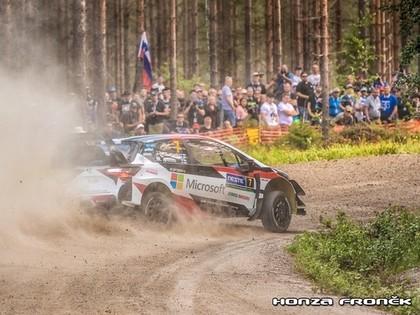 Somijas WRC rallijs pārcelts uz rudeni