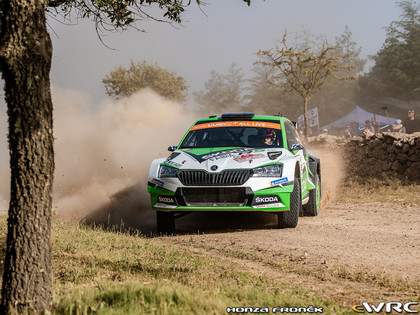 'Rally Estonia' debitēs jaunās 'Ford Fiesta R5' un 'Škoda Fabia R5' automašīnas