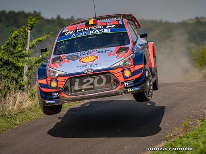 WRC piloti sāk gatavošanos Beļģijas WRC rallijam